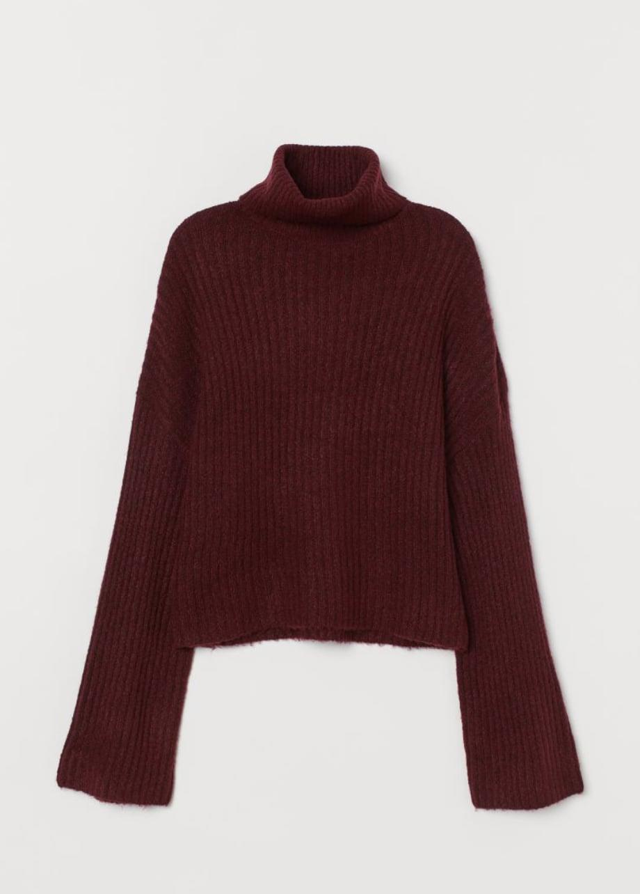 <p>You can't go wrong with this <span>H&amp;M Rib-Knit Turtleneck Sweater</span> ($11, originally $25).</p>