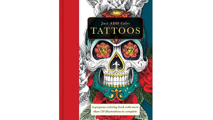 Just Add Colour Tattoos, $10. (Image via Amazon)