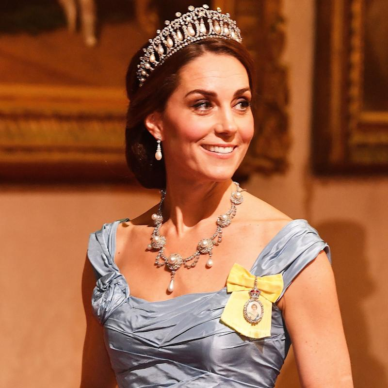 The History Behind Kate Middleton's Stunning State Banquet Jewels