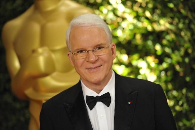 Steve Martin seen on the red carpet at the 2013 Governors Awards, on Saturday, Nov. 16, 2013 in Los Angeles (Photo by John Shearer/Invision/AP)