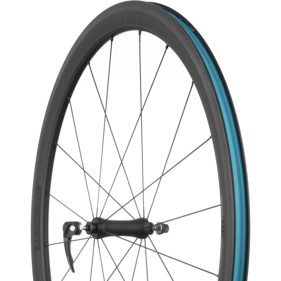 """<p><strong>Reynolds</strong></p><p>competitivecyclist.com</p><p><strong>$899.40</strong></p><p><a href=""""https://www.competitivecyclist.com/reynolds-assault-slg-carbon-wheelset-tubeless"""" target=""""_blank"""">Buy Now</a></p><p>Originally $1,499</p>"""