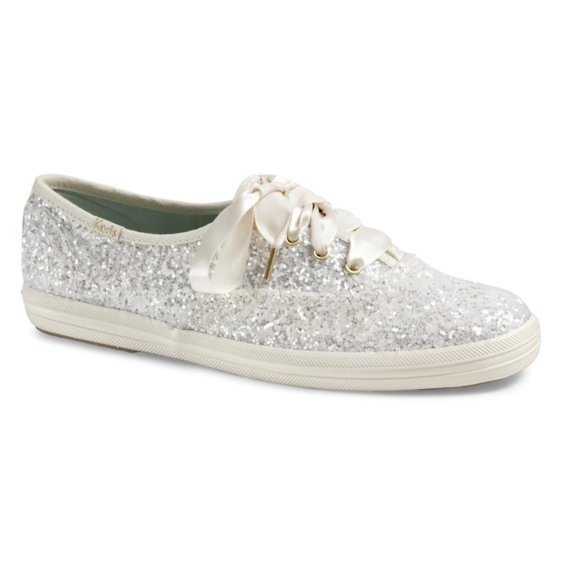 14cf0ccf159f Kate Spade and Keds Partner to Make the Cutest Wedding Sneakers Ever