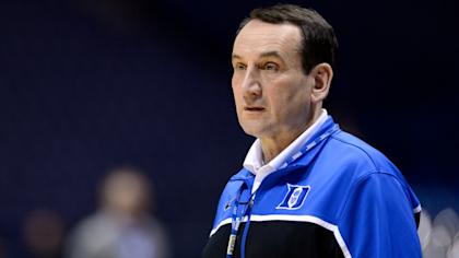 One thing that has never changed about Mike Krzyzewski: his intensity. (AP)
