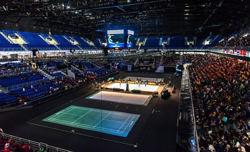"""<em>We had backdoor access to Putra Indoor Stadium during the two months we trained there. It was a labyrinth, and we had incidents where some of us got locked in places that we weren't supposed to go! (Image source: <a href=""""https://en.wikipedia.org/wiki/Axiata_Arena%2523/media/File:Axiata_Arena_2017_Sea_Games.jpg"""" rel=""""nofollow noopener"""" target=""""_blank"""" data-ylk=""""slk:Wikipedia"""" class=""""link rapid-noclick-resp"""">Wikipedia</a>)</em>"""