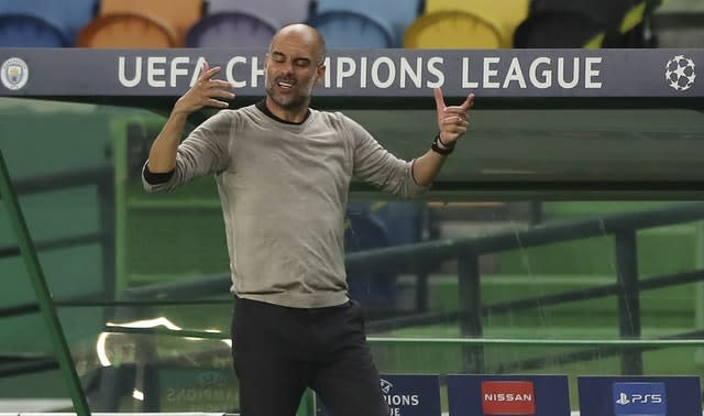 Pep Guardiola could not steer City beyond Lyon in the quarter-finals