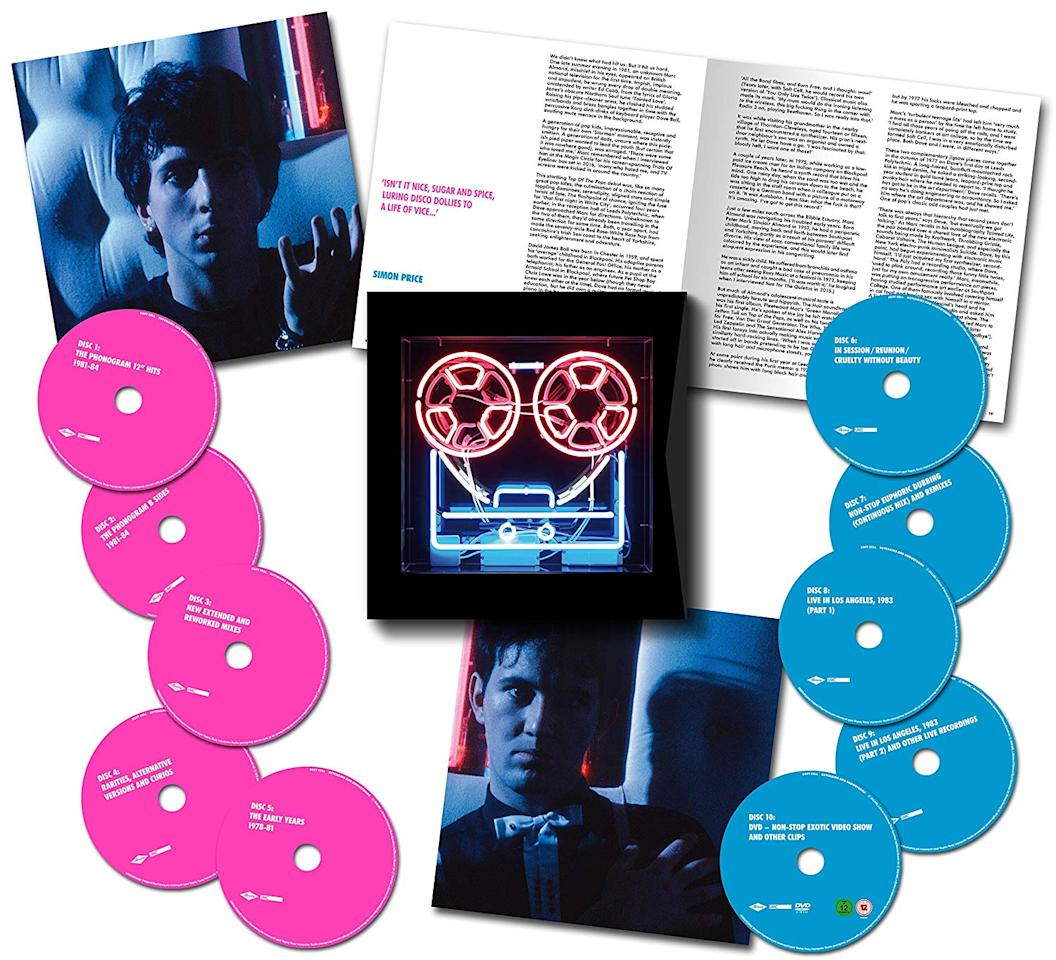 """<p>There's a whole lot more to this pioneering U.K. synthpop duo than """"Tainted Love,"""" their only major U.S. hit. The group, which just briefly reunited to perform their sold-out 40th anniversary/farewell concert at London's O2 Arena, gets the ten-disc treatment here, with 130 tracks and 12 hours of music — half of it previously unreleased. This is a fascinating artifact of the Second British Invasion of the 1980s. </p>"""