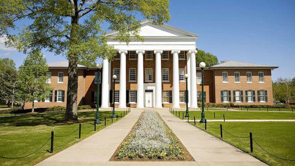 PHOTO: The Lyceum, oldest building on the campus of the University of Mississippi on April 12, 2008, in Oxford, Miss. (Wesley Hitt/Getty Images, FILE)