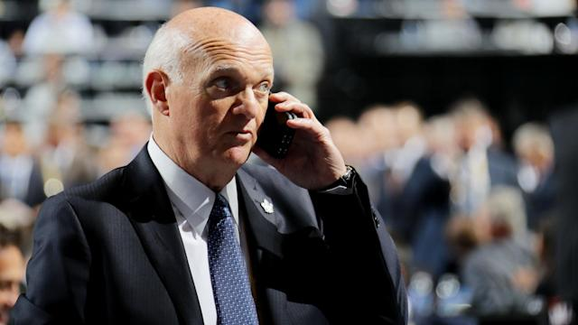 Two weeks after becoming the Islanders' president of hockey operations, Lou Lamoriello relieved Garth Snow and Doug Weight of their duties.