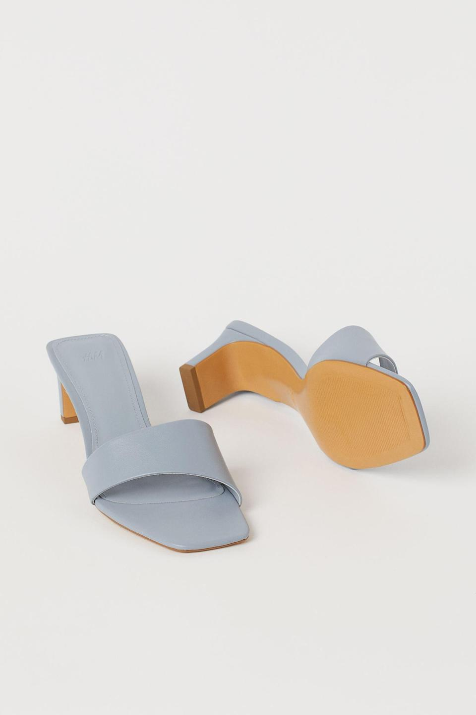 <p>These <span>Slip-on Sandals</span> ($25) will be your most worn summer shoes, thanks to their fresh color and sleek profile.</p>