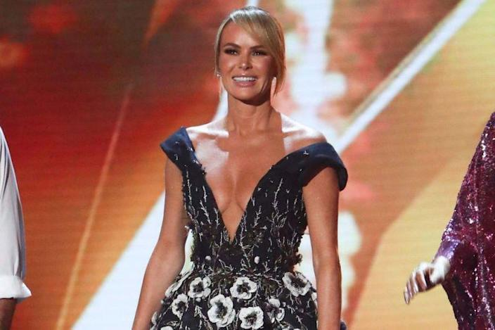 Amanda Holden Doesn T Think About Age When Dressing For Britain S Got Talent