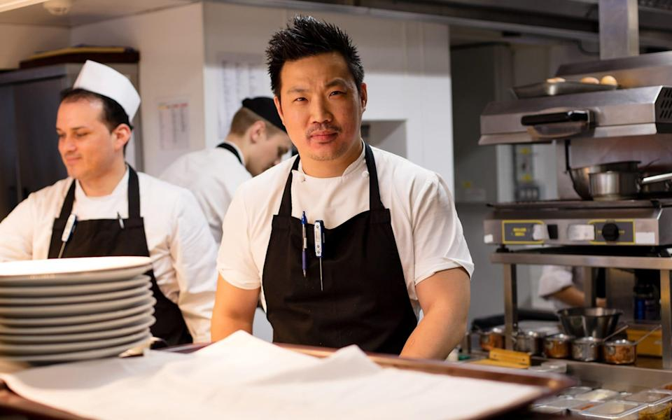 Andrew Wong in action - Jutta Klee