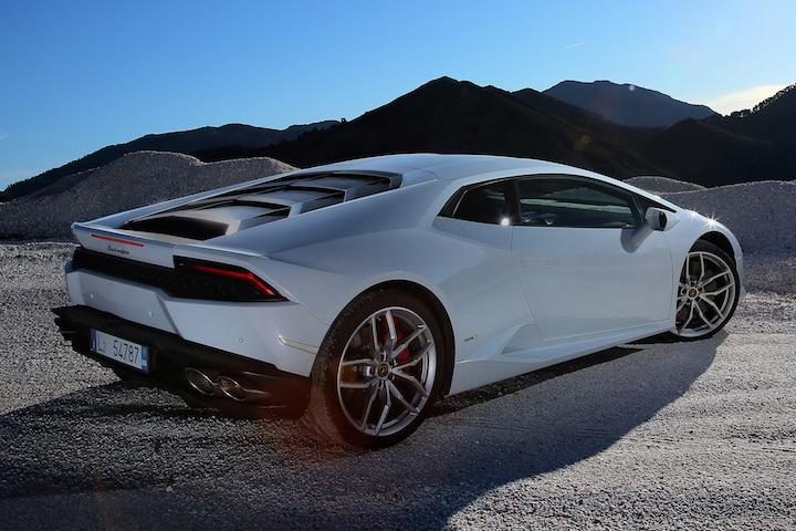 lamborghini huracan white - photo #18