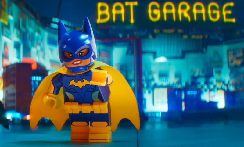 Batgirl's most recent big screen appearance, as voiced by Rosario Dawson in 'The Lego Batman Movie' (credit: Warner Bros)