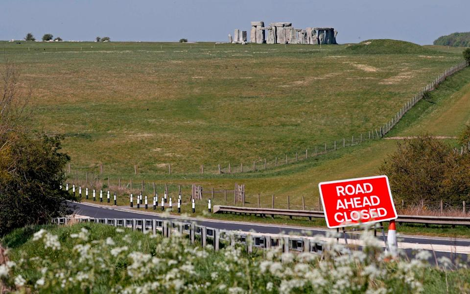 Stonehenge sits beside the A303, a popular and often gridlocked route to the South West - GETTY IMAGES