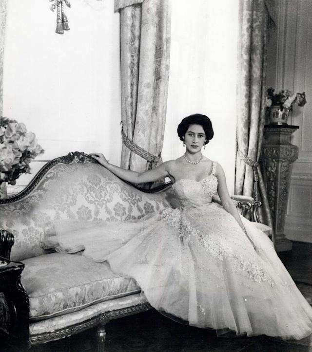 Princess Margaret was renowned for her love of fashion and glamorous house parties (Rex)