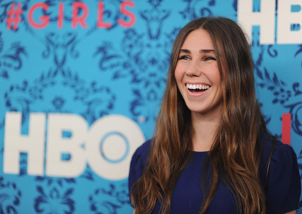 """Zosia Mamet attends the premiere of HBO's """"<a target=""""_blank"""" href=""""http://tv.yahoo.com/girls/show/47563"""">Girls</a>"""" at the School of Visual Arts Theater on April 4, 2012 in New York City."""