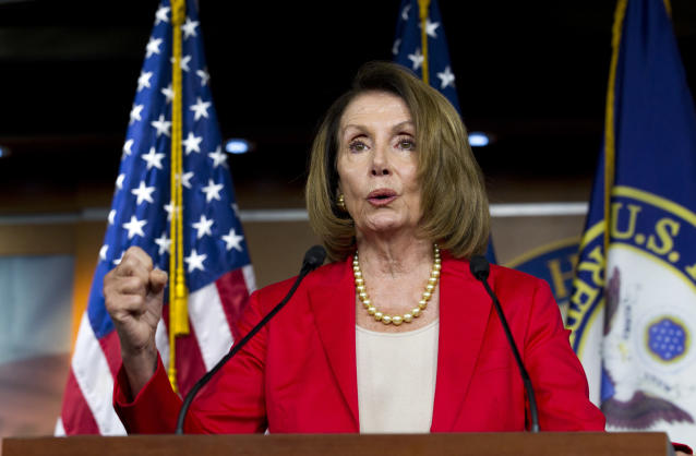 Nancy Pelosi will become Speaker of the House–again–if Democrats retake the Senate. (AP Photo/Jose Luis Magana)
