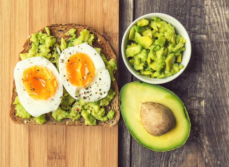soft boiled egg avocado toast