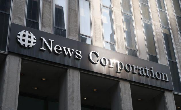 NEW YORK, NY - MAY 11: The sun reflects off the corporate logo of News Corporation at their headquarters on 6th Avenue on May 11, 2019 in New York City. (Photo by Gary Hershorn/Getty Images) (Photo: Gary Hershorn via Getty Images)