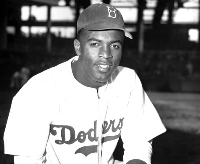 Major League Baseball releases year-long schedule of events to honor Jackie Robinson's centennial year. (AP)