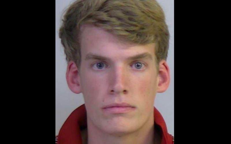 Alabama freshman Connor Bruce Croll, 19, is accused of calling in a bomb threat to LSU's Tiger Stadium. (Tuscaloosa County Sheriff's Office)