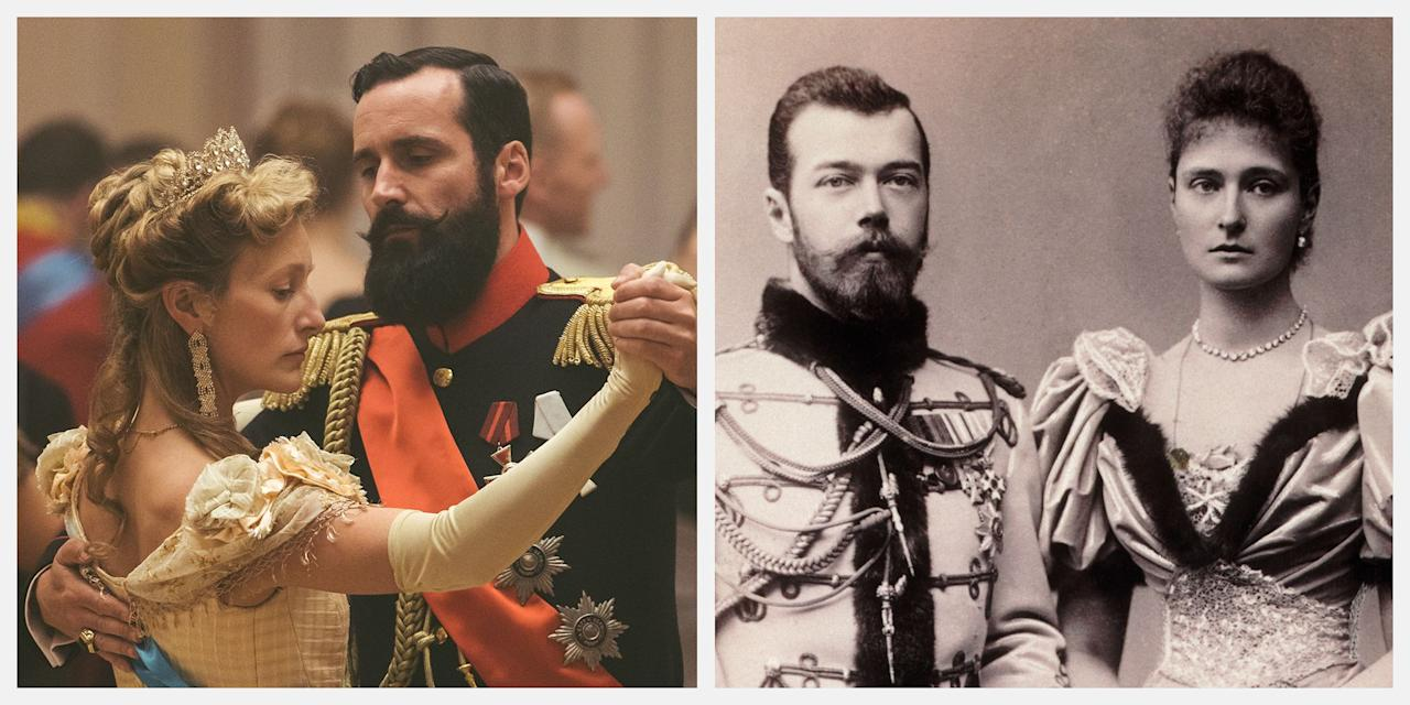 """<p><a href=""""https://www.townandcountrymag.com/leisure/arts-and-culture/a13452090/the-last-czars-netflix/"""" target=""""_blank""""><em>The Last Czars</em>, a new Netflix docuseries about the end of the Romanov dynasty</a>, brings back a cast of familiar characters. There's Nicholas II, his wife Alexandra, their five children, and of course Rasputin, one of history's most fascinating villains. <a href=""""https://www.townandcountrymag.com/society/tradition/a8072/russian-tsar-execution/"""" target=""""_blank"""">The Romanovs' story</a> has been told and retold, presenting viewers with a new set of faces each time—each with varying degrees of accuracy to <a href=""""https://www.townandcountrymag.com/society/tradition/a24186546/romanov-jewelry-catalogues-russia-does-not-want-you-to-see/"""" target=""""_blank"""">the real-life Romanovs</a>. So, how does the cast of <em>The Last Czars</em> stack up? Here, all the major stars, compared to their historical counterparts.<em></em><em></em></p>"""