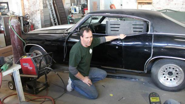 Inside one hot rodder's drive to build muscle cars for