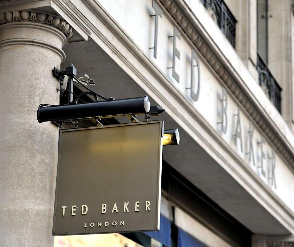 Ted Baker sales rose following the end of Covid-19 restrictions (Nick Ansell/PA) (PA Archive)