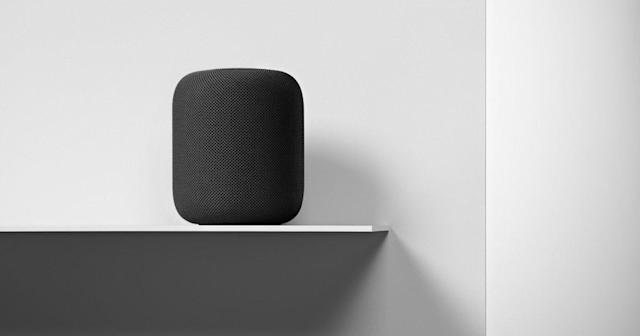 Apple HomePod speaker. (Apple)