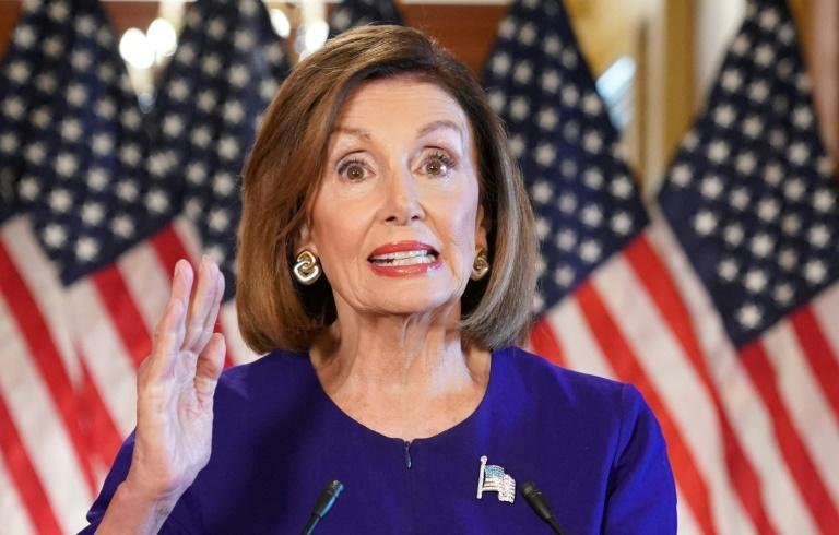 US Speaker of the House Nancy Pelosi has announced a formal impeachment inquiry against President Donald Trump (AFP Photo/MANDEL NGAN)