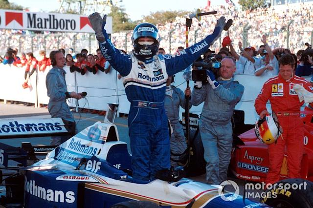 "Damon Hill - 21 victorias con Williams <span class=""copyright"">Sutton Motorsport Images</span>"