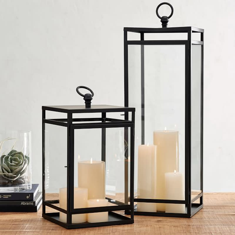 """<a rel=""""nofollow noopener"""" href=""""https://rstyle.me/n/c7f4iuchdw"""" target=""""_blank"""" data-ylk=""""slk:Maxwell Lantern, Pottery Barn, $159These lanterns are cozy indoors or out."""" class=""""link rapid-noclick-resp"""">Maxwell Lantern, Pottery Barn, $159<p>These lanterns are cozy indoors or out.</p> </a><p> <strong>Related Articles</strong> <ul> <li><a rel=""""nofollow noopener"""" href=""""http://thezoereport.com/fashion/style-tips/box-of-style-ways-to-wear-cape-trend/?utm_source=yahoo&utm_medium=syndication"""" target=""""_blank"""" data-ylk=""""slk:The Key Styling Piece Your Wardrobe Needs"""" class=""""link rapid-noclick-resp"""">The Key Styling Piece Your Wardrobe Needs</a></li><li><a rel=""""nofollow noopener"""" href=""""http://thezoereport.com/living/work/admit-youre-overwhelmed-work/?utm_source=yahoo&utm_medium=syndication"""" target=""""_blank"""" data-ylk=""""slk:How To Admit You're Overwhelmed At Work"""" class=""""link rapid-noclick-resp"""">How To Admit You're Overwhelmed At Work</a></li><li><a rel=""""nofollow noopener"""" href=""""http://thezoereport.com/fashion/celebrity-style/meghan-markle-dress-hack/?utm_source=yahoo&utm_medium=syndication"""" target=""""_blank"""" data-ylk=""""slk:Meghan Markle's Dress Hack For Windy Days Is Brilliant"""" class=""""link rapid-noclick-resp"""">Meghan Markle's Dress Hack For Windy Days Is Brilliant</a></li> </ul> </p>"""