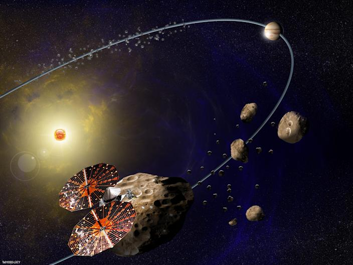 lucy mission trojan asteroids