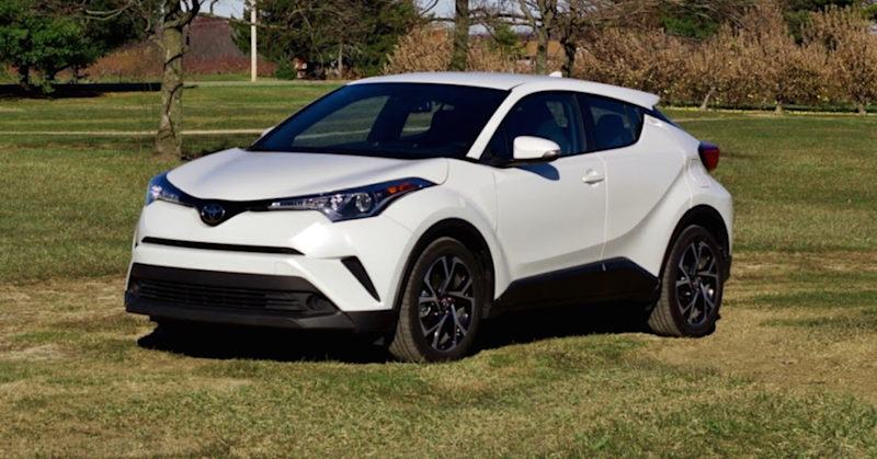 The 2017 Toyota C-HR XLE is surprisingly fun to drive for a crossover