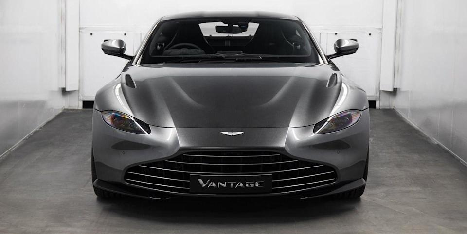 Aston Martin Will Take Your Vantage Back To The Factory To Swap Its Grille