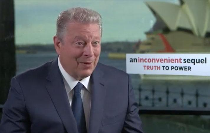 """When speaking to Be in Sydney to promote An Inconvenient Sequel: Truth To Power, the 69-year-old said it """"Doesn't matter what Donald Trump says, we're going to solve this"""". Source: Be"""