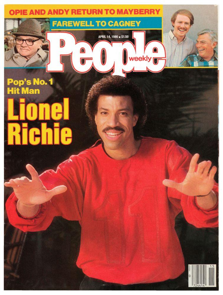 Lionel Richie on the cover of PEOPLE