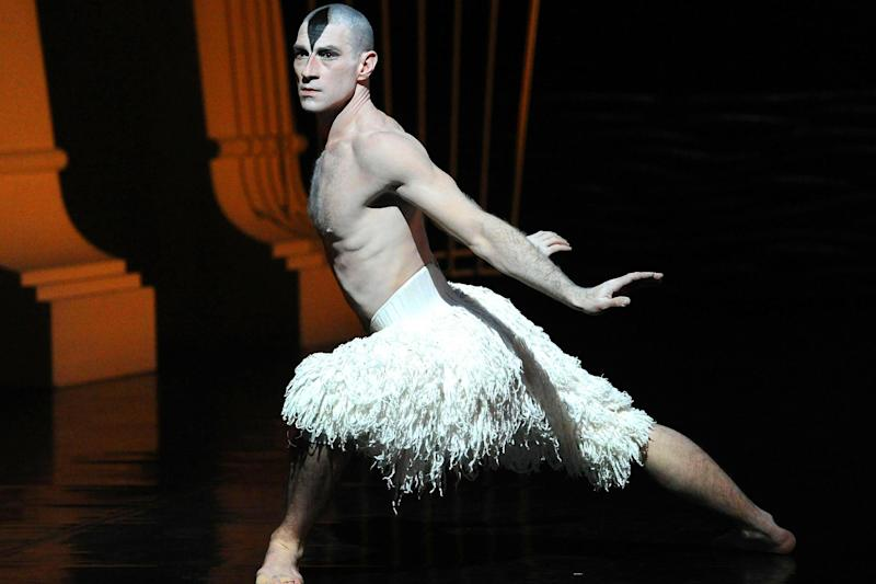 'Inspiration': Jonathan Ollivier was on his way to perform at Sadler's Wells when he was knocked off his motorbike: Rex Features