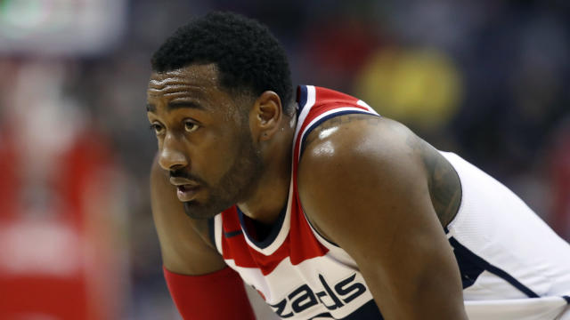 John Wall needs a hug. (AP Photo/Alex Brandon, File)