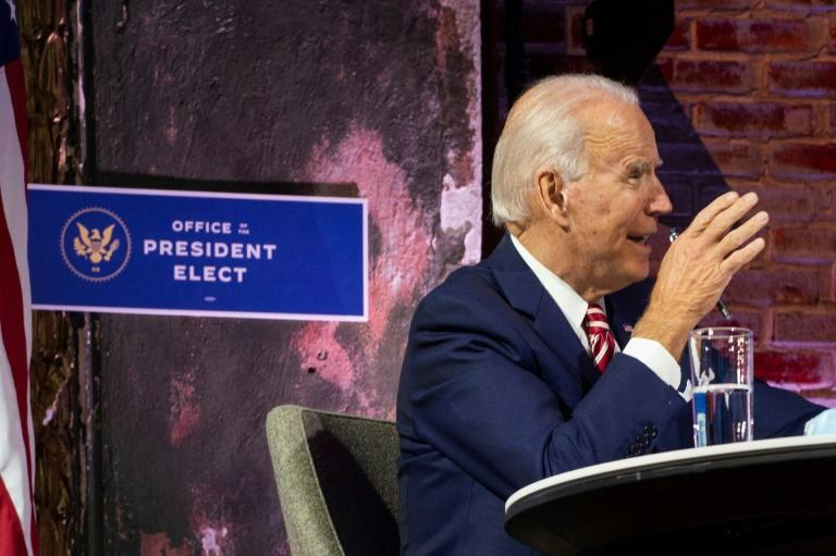US President-elect Joe Biden has criticized President Donald Trump for his refusal to concede the election and work with the incoming administration to jointly fight the coronavirus pandemic