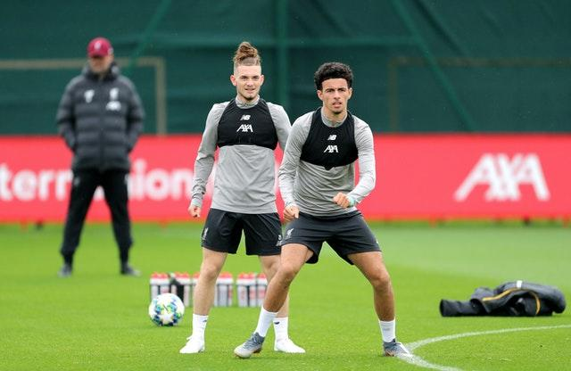 Harvey Elliott (left) and Curtis Jones will not be gifted Premier League appearances