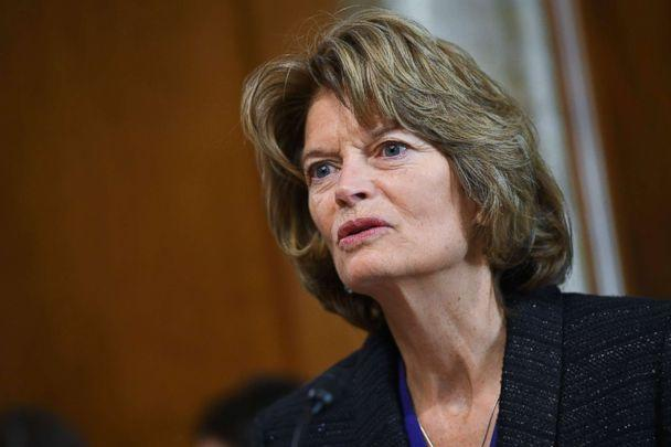 PHOTO: Senate Energy and Natural Resources Committee Chair Lisa Murkowski speaks during a committee hearing in the Dirksen Senate Office Building on Capitol Hill in Washington, D.C., Feb. 28, 2019. (Mandel Ngan/AFP/Getty Images)