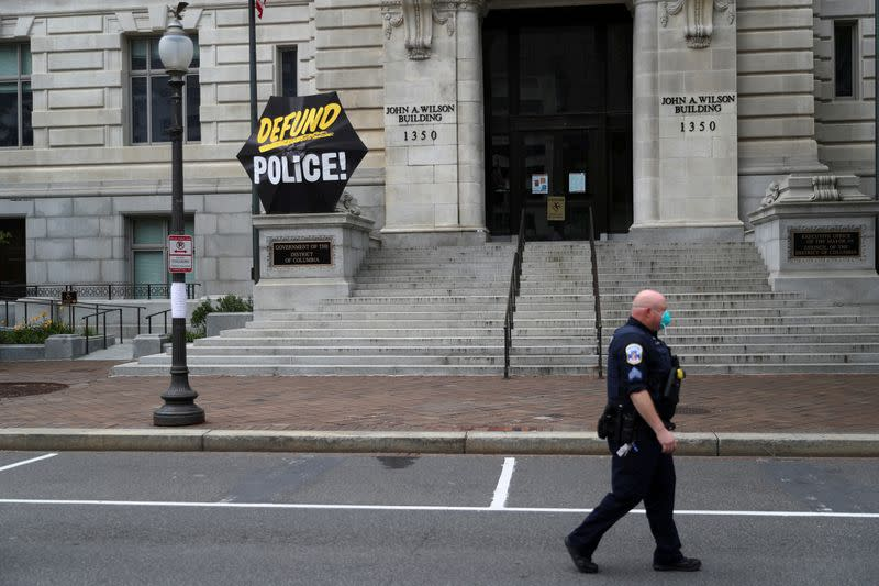 Washington, D.C., police union moves to block release of body cam footage