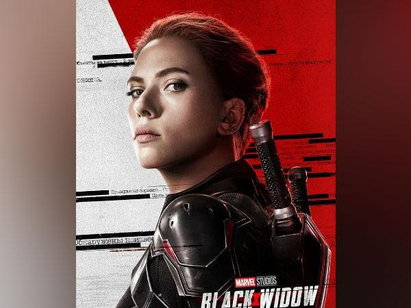 A poster of the film 'Black Widow'. (Image Source: Twitter)