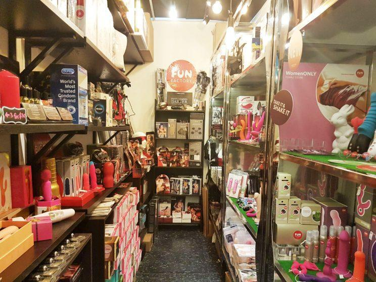 Inside an adult toy shop in Singapore. (Photo: Wan Ting Koh/ Yahoo Lifestyle Singapore)