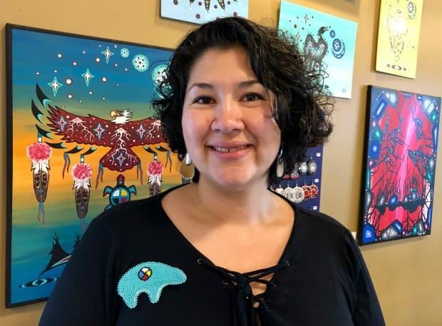 Amy Willier, co-owner of Inglewood shop and gallery Moonstone Creation, has died. (Livia Manywounds/CBC - image credit)