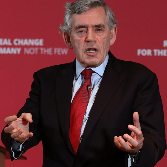 Gordon Brown is concerned about the future of the UK - Andrew Milligan/PA