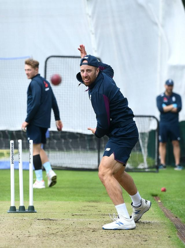 Jack Leach has been restricted to net practice during 10 weeks in the England camp.
