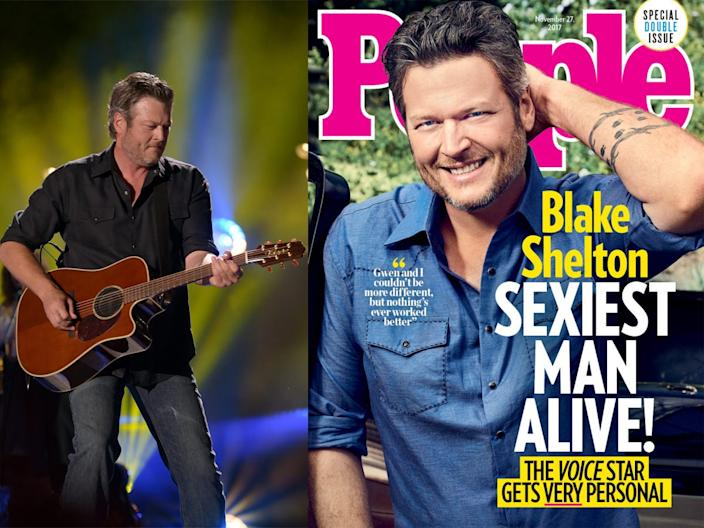 blake shelton people sexiest man