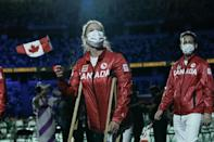 The opening ceremony came with Tokyo and 12 other regions under a virus state of emergency